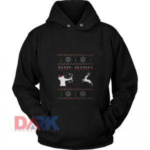Awesome Merry Huntmas  hooded sweatshirt clothing unisex hoodie on sale