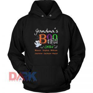 Grandma's Bootiful Crew hooded sweatshirt