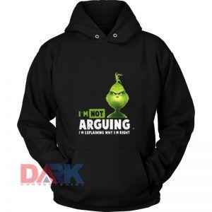 I'm Not Arguing I'm Explaining hooded sweatshirt clothing unisex hoodie on sale