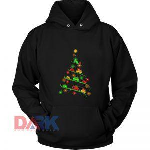 Kight Up Chritmas hooded sweatshirt