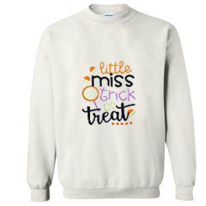 Little Miss Trick Or Treat Sweatshirt