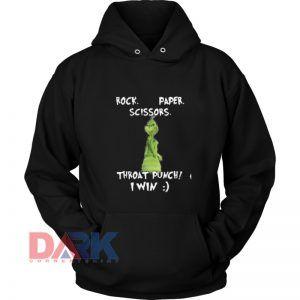 Rock Paper Scissors hooded sweatshirt clothing unisex hoodie on sale