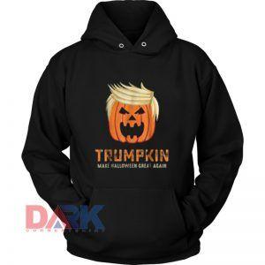 Trumpkin Halloween hooded sweatshirt