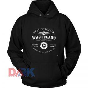 West Virginia Wasteland Country hooded sweatshirt clothing unisex hoodie on sale