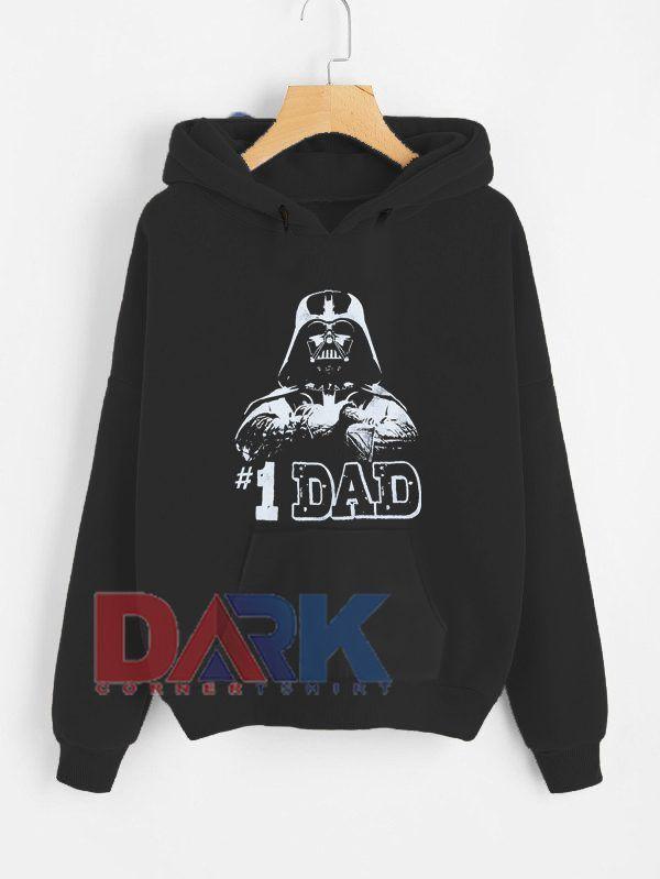 1 Dad hooded sweatshirt