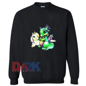 Unicorn and Dragon Sweatshirt