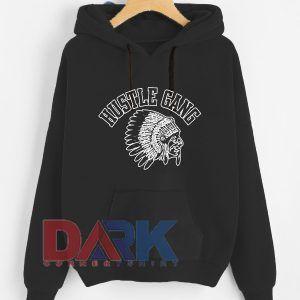 Hustle Gang Logo Men's Comfort hooded sweatshirt
