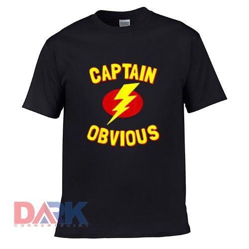 Thunder Captain Obvious t-shirt for men and women tshirt