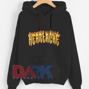 Heartache hooded sweatshirt