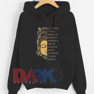 Life is Ironic hooded sweatshirt