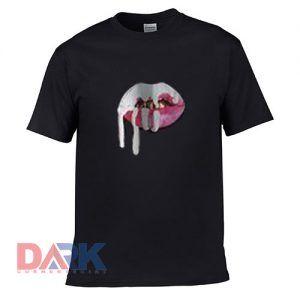 Kylie Lips Jenner t-shirt for men and women tshirt