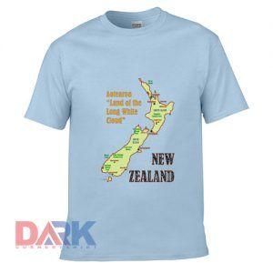 New Zealand Map t-shirt for men and women tshirt