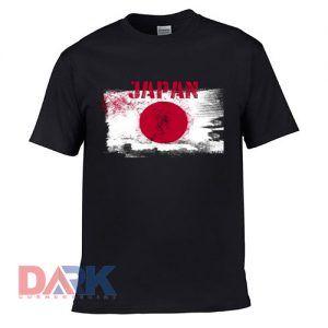 Japan sun mark flag t-shirt for men and women tshirt