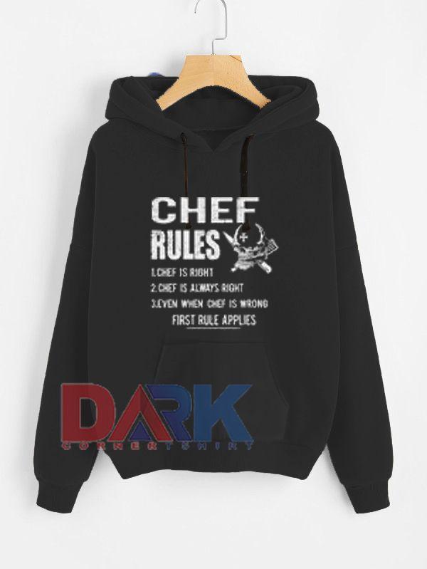 Chef Rules Unisex Heavy Blend hooded sweatshirt
